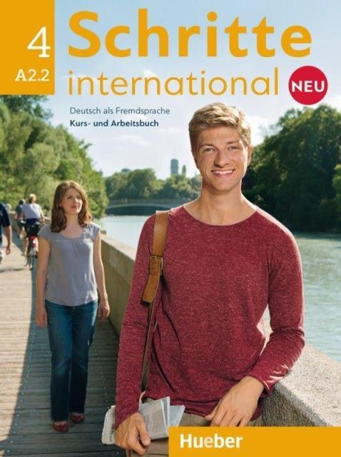 Schritte International Neu 4 Kursbuch und Arbeitsbuch mit Audio-CD zum Arbeitsbuch