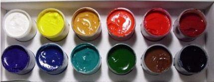 Краски гуашевые