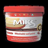 Краска для стен и потолка, стойкая к мытью МІКС 7 кг