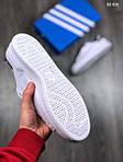 Мужские кроссовки Adidas Stan Smith (бело-черные), фото 4