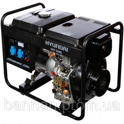 Генератор дизельный Hyundai DHY 5000L, фото 2