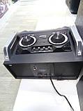 Портативный бумбокс караоке Ailiang UF-1506A-DT сабвуфер USB\ Bluetooth\ FM-тюнер\ Пульт ДУ, фото 4