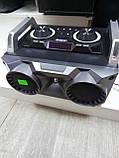 Портативный бумбокс караоке Ailiang UF-1506A-DT сабвуфер USB\ Bluetooth\ FM-тюнер\ Пульт ДУ, фото 2