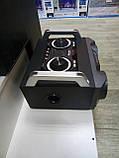 Портативный бумбокс караоке Ailiang UF-1506A-DT сабвуфер USB\ Bluetooth\ FM-тюнер\ Пульт ДУ, фото 5