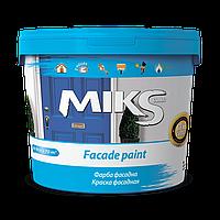 Краска фасадная   для наружных  работ МІКС 7 кг