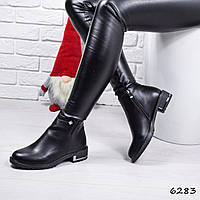 Ботинки женские Velis черные 6283, фото 1