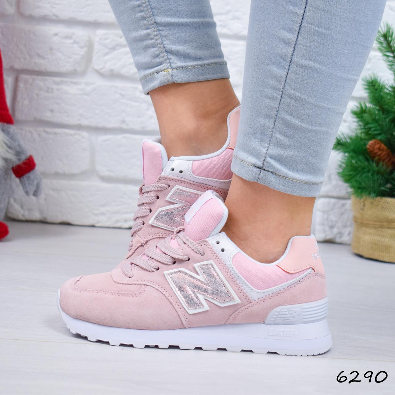 68baaa4a4 Кроссовки женские в стиле New Balance pink 6290, спортивная обувь ...