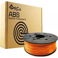 Катушка с нитью 1.75мм/0.6кг ABS XYZprinting Filament для da Vinci, оранжевый