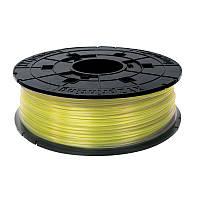 Катушка с нитью 1.75мм/0.6кг PLA XYZprinting Filament для da Vinci, прозрачный желтый