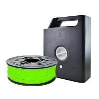 Катушка с нитью 1.75мм/0.6кг PLA(NFC) XYZprinting Filament для Junior, miniMaker, Nano, неон-зелен