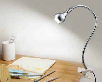 Світлодіодна USB лампа для підсвічування LED (сріблястий)