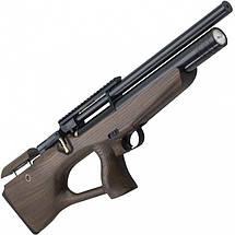 Пневматическая винтовка PCP КОЗАК 330/180 4,5 мм (черный/коричневый), фото 3