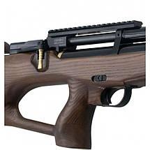 Пневматическая винтовка PCP КОЗАК 330/180 4,5 мм (черный/коричневый), фото 2
