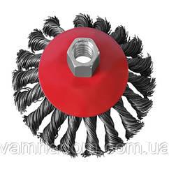 Щетка чашечная для УШМ INTERTOOL BT-4100