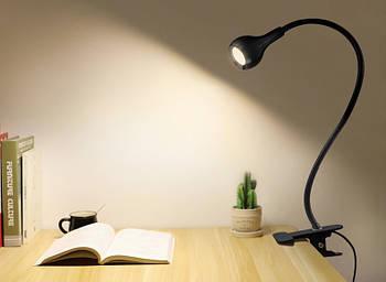 Світлодіодна USB лампа для підсвічування LED (чорний)