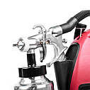 Краскопульт электрический HVLP 600 Вт., форсунка 1.8 мм, бачок 1л., 0.14-0.70 Бар, 450-550 мл/мин INTERTOOL DT-5060, фото 4