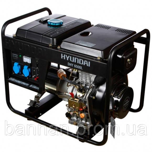 Генератор дизельный Hyundai DHY 6500L