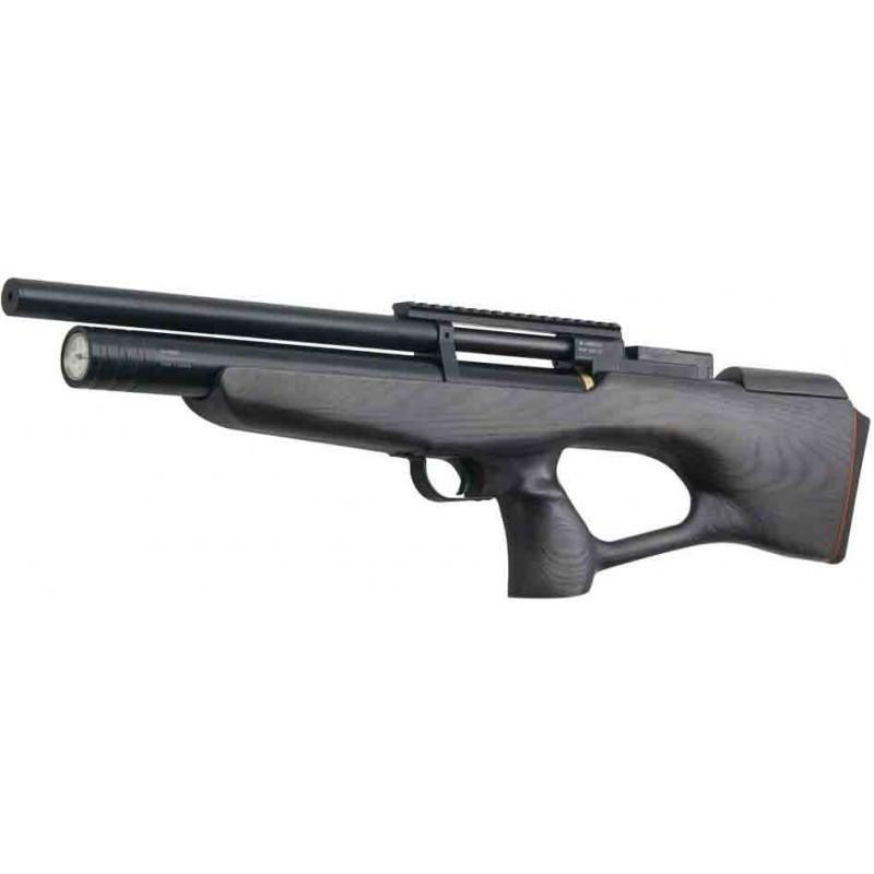Пневматична гвинтівка PCP КОЗАК 450/220 4,5 мм (чорний/чорний)