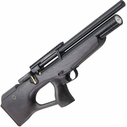 Пневматична гвинтівка PCP КОЗАК 450/220 4,5 мм (чорний/чорний), фото 2