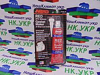Герметик прокладок ABRO MASTERS RED RTV Silicone Gasket Maker (красный) 85 грамм