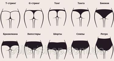 Видов женских трусиков