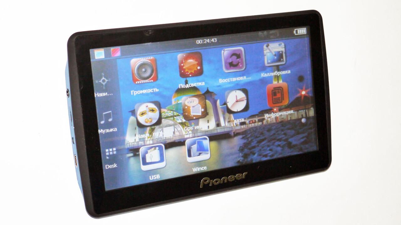 GPS навигатор 7 дюймов Pioneer 701 4GB