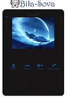 """Видео домофон цветной MS-04, TFT LCD 4"""", миниатюрный, Slinex"""