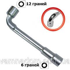 Ключ торцовый с отверстием L-образный INTERTOOL HT-1607