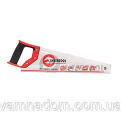Ножовка по дереву c каленым зубом INTERTOOL HT-3101