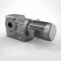 Циліндро-конічні мотор-редуктори GK Guomao