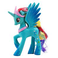 Пони 14 см. My Little Pony Мой маленький пони Голубая Игрушка для девочек Единорог, фото 1