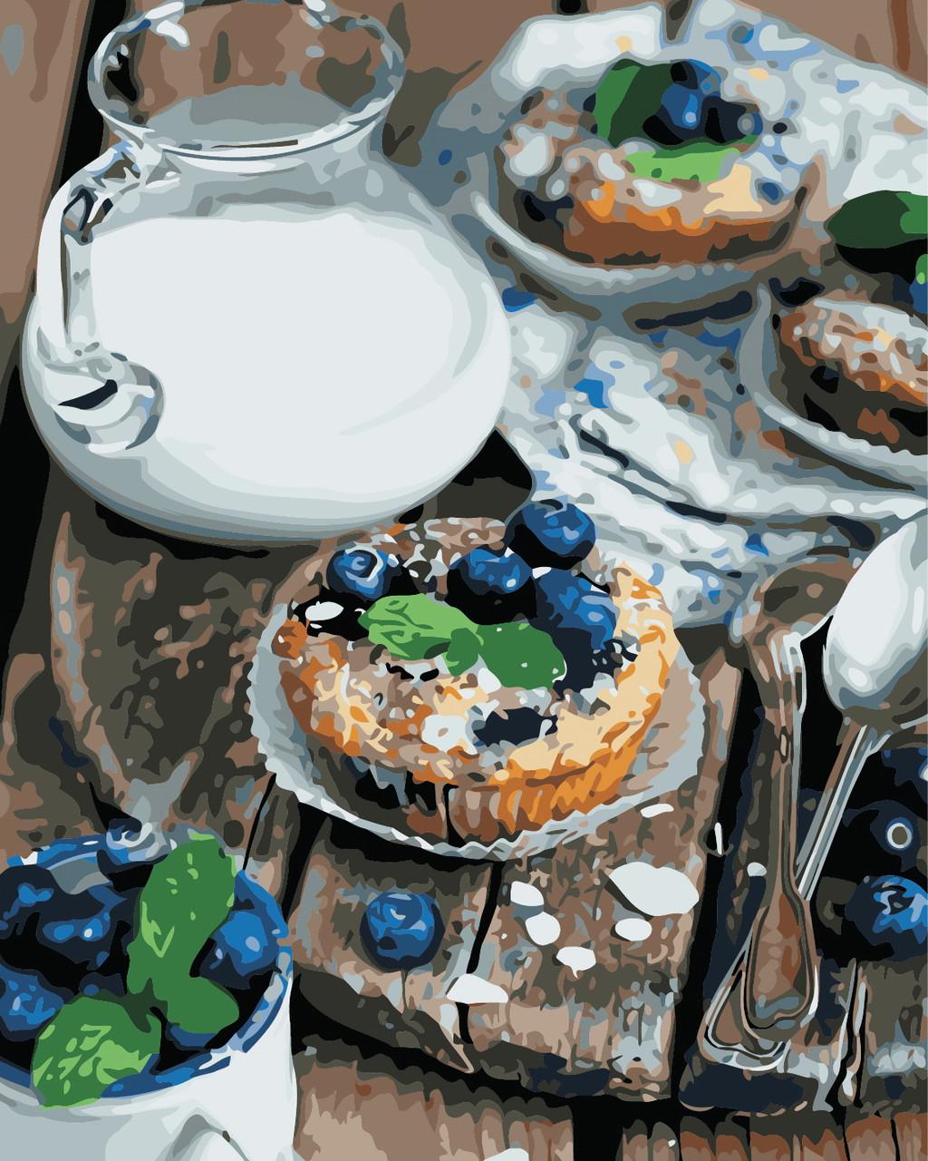 Художественный творческий набор, картина по номерам Вкусный завтрак, 40x50 см, «Art Story» (AS0458)