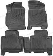 Коврики в салон Geely Emgrand X7 2011- 3D, Lada Locker