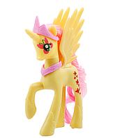 Пони 14 см. My Little Pony Мой маленький пони Флаттершай Игрушка для девочек Единорог, фото 1