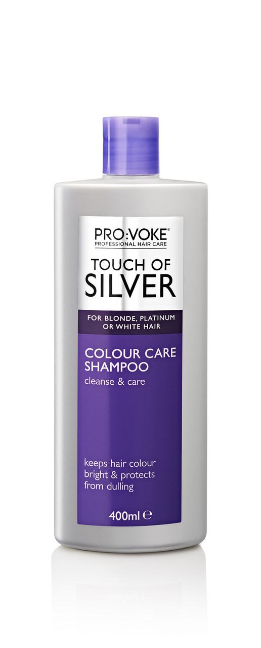 Кондиционер с формулой защиты цвета (светлые холодные) PRO:VOKE Touch of Silver Colour Care Conditioner 400ml