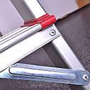 Стремянка алюминиевая 6 ступеней INTERTOOL LT-1006, фото 4