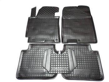 Коврики в салон Hyundai Elantra 2011 -> черный, кт - 4шт