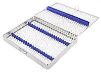 Бокс, лоток-касета для стерилизации инструмента (хирургическая на 20 инст.)