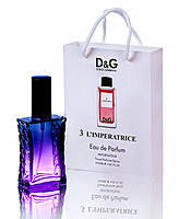 Парфюм в подарочной упаковке DOLCE & GABBANA 3 L`IMPERATRICE  50ml