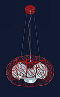 Люстра Levistella красная 7076402-3