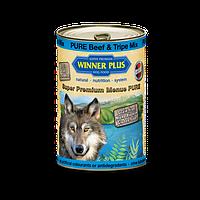 Winner Plus (Виннер Плюс) консервы для собак с говядиной и рубцом 800 г