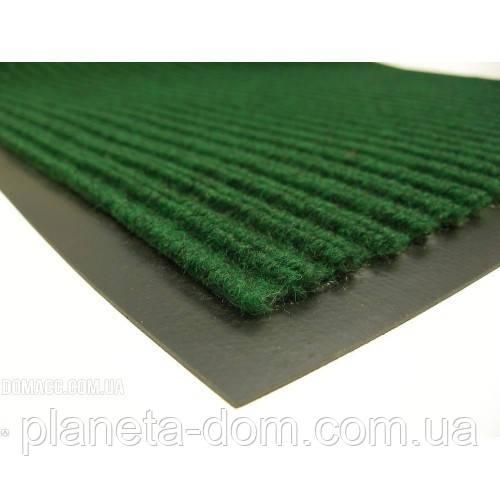 Коврик грязезащитный влаговпитывающий 90 х 150 зелёный