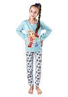 Байковая детская пижама Турция