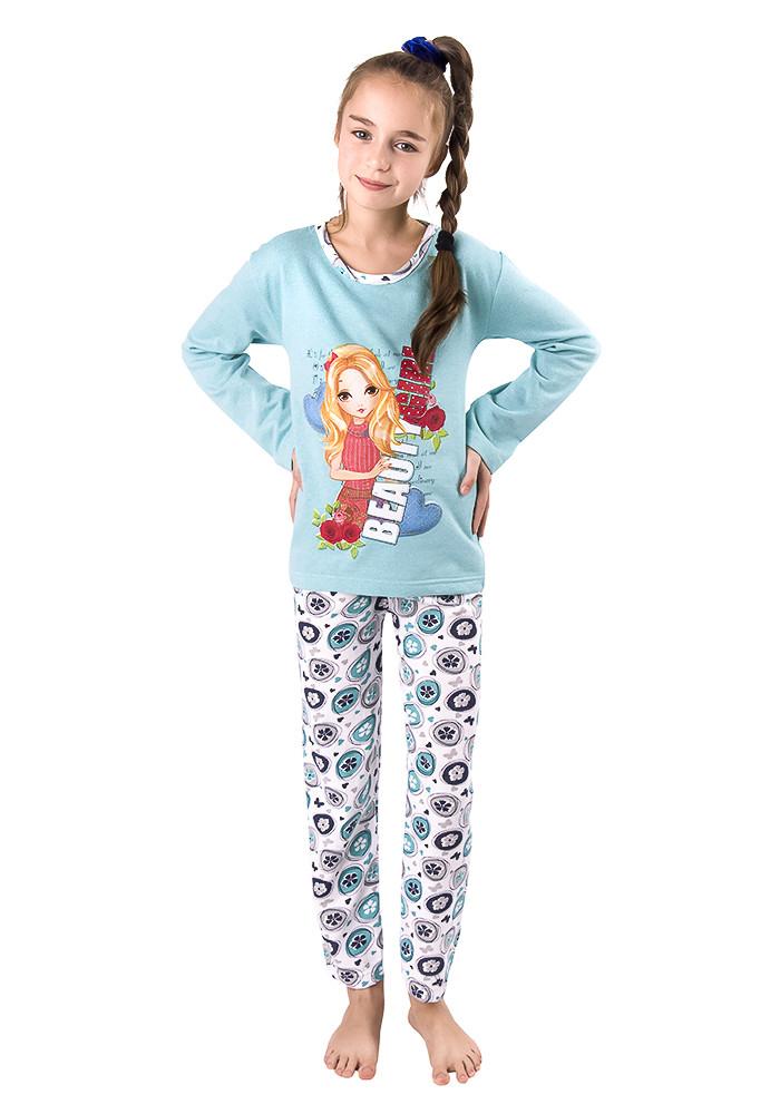 10eb6ab590c0 Байковая детская пижама Турция - Интернет-магазин