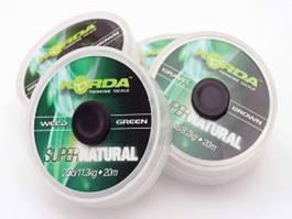 Поводковый материал Korda Super Natural 18lb Green