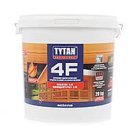 ОгнеБиозащита для дерева 4F TYTAN - красный концентрат 1:4 - 20 кг
