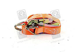 Стяжка вантажу, плетений трос, 0.5 t. 25mm.x5m.(0.5+4.5) метал. ручка , DK-3934