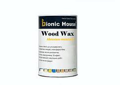 """Краска-Воск для дерева """"Wood Wax"""" Bionic House декоративная атмосферостойкая и устойчивая к истиранию 0,8л"""