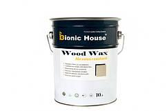 """Краска-Воск для дерева """"Wood Wax"""" Bionic House декоративная атмосферостойкая и устойчивая к истиранию 10л"""