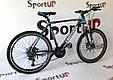 """Горный велосипед CROSSRIDE CROSS 6000 МТВ 26"""" Черный/Голубой, фото 3"""